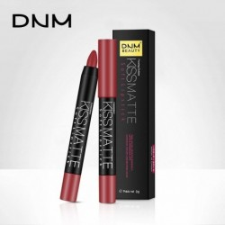 DNM Velvet mist Matte Lipstick Pen 19 Colors Waterproof Long-lasting rotation Lip Gloss Cosmetic colorfast Lipstick Pencil 531