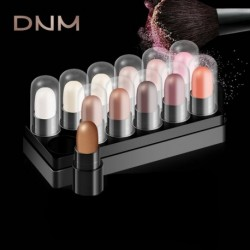 DNM Waterproof Natural Eye Shadow Pen Sample Set pigment Makeup Pencil Tools Eyeshadow Pen Shadow Stick 12 Color Optional Set