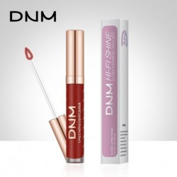 DNM Liquid Lipstick Sexy Lip Paint Matte Lipstick Waterproof Long Lasting Moisturizer Nonstick cup Lip Gloss Beauty tool 12Color