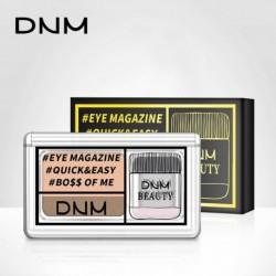 DNM Professional Long-lasting Shimmer Eyeshadow fast Makeup Palette Fashion Waterproof Pigment Natural Nude Eyeshadow Palette