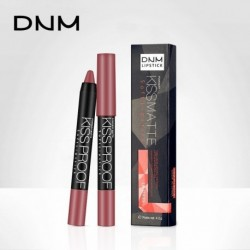 DNM Matte Lipstick Pen 19 Colors Waterproof Long-lasting Nonstick cup Lip Gloss Cosmetic colorfast Lipstick Pencil 501