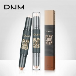 DNM Double Facial Modified High Light Bar Concealer Cosmetics Shadow Nib and Highlight Nib Makeup Created V Face Beauty