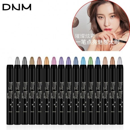 DNM Shimmer Waterproof Eyeshadow Pencil Stick Makeup Long Lasting Cosmetic Lying silkworm Pen Shadow Stick Gel Eye Shadow Cream