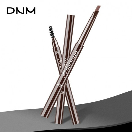 DNM 1 Pcs Womens Eyebrow Pencil Waterproof Eye Brown Pencil With Brush Make Up Eyeliner Eye Liner Makeup Tools 091