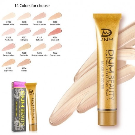 DNM Concealer Stick Base Foundation Cream Face Cover Makeup Primer Party Hide Blemish Waterproof Highlight 14 Colors BB Glow
